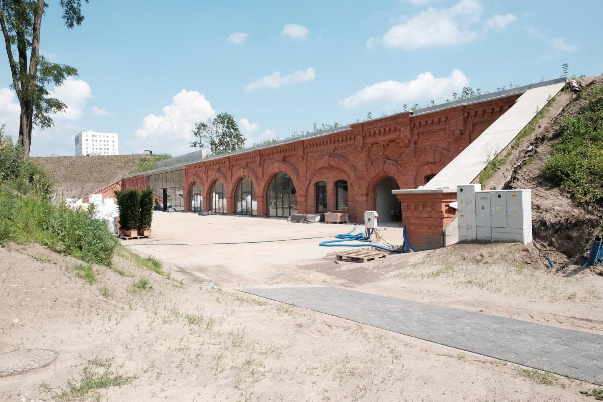 Warszawa Fort Piłsudskiego Mokotów
