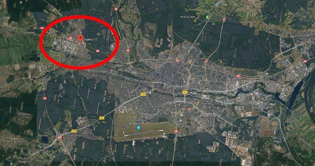 Bydgoszcz Skośna Osowa Góra