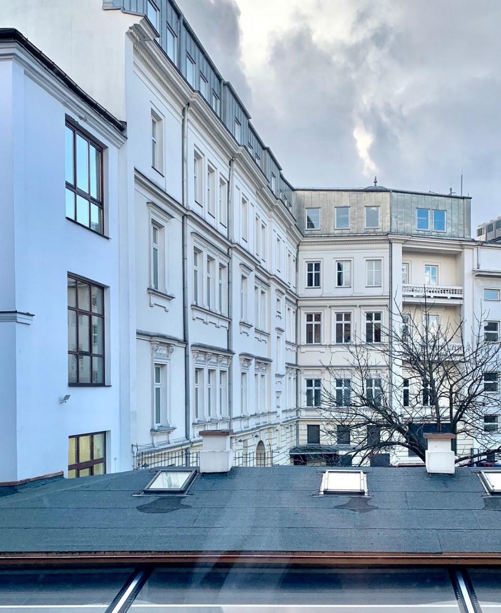 Warszawa Plac Trzech Krzyży Śródmieście