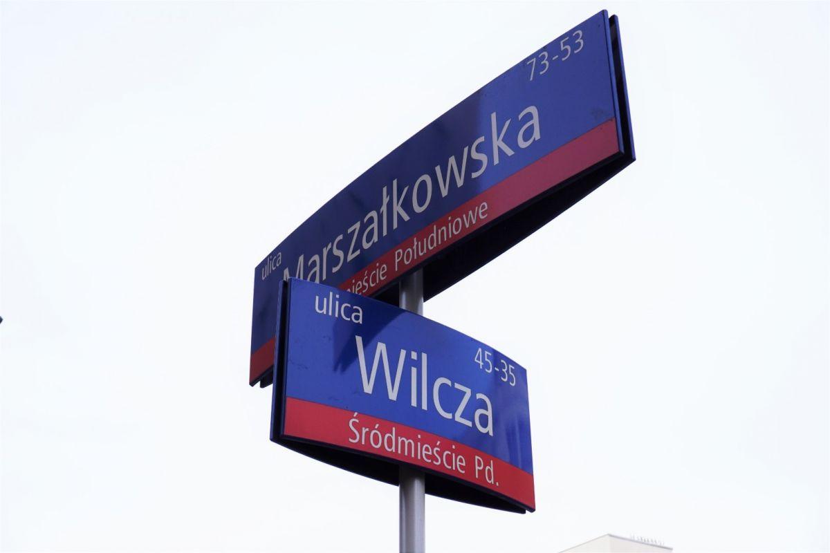Warszawa Wilcza Śródmieście