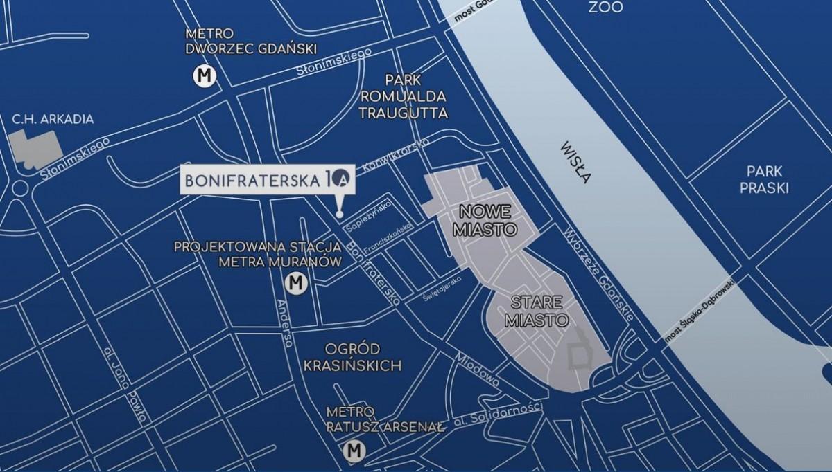 Warszawa Bonifraterska Śródmieście